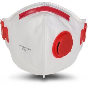 FFP3 Zaštitne maske s ventilom, 10 komada, standard EN149
