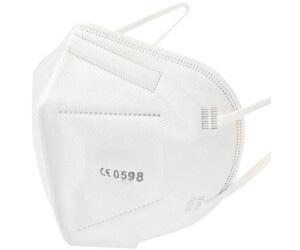 FFP2 Zaštitne maske, 15 komada, bijele