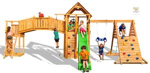 Fungoo drveno dječje igralište FUN GYM - Maxi set