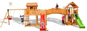 Fungoo drveno dječje igralište SMILE FARM - Maxi set