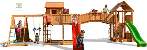 Fungoo drveno dječje igralište SPIDER LAND - Maxi set