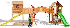 Fungoo drveno dječje igralište SIZED PLAZA - Maxi set