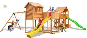 Fungoo drveno dječje igralište PLAY BOX - Maxi set