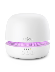 Anjou ultrazvučni ovlaživač/aroma difuzor bijele boje, kapacitet 300 ml