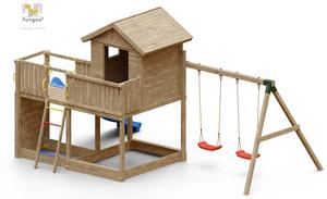 Fungoo drveno dječje igralište GALAXY L set