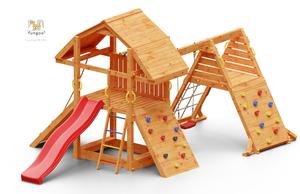 Fungoo drveno dječje igralište BUFFALO SPIDER set