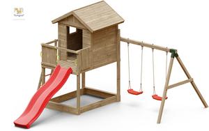Fungoo drveno dječje igralište GALAXY S set