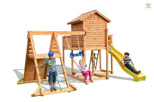 Fungoo drveno dječje igralište MySIDE SPIDER set