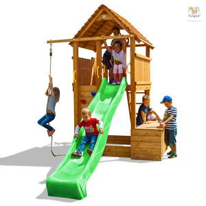 Fungoo drveno dječje igralište FORTRESS TOYBOX set
