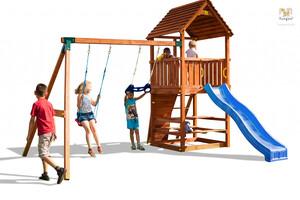Fungoo drveno dječje igralište JOY MOVE+ set