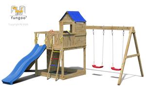 Fungoo drveno dječje igralište TREEHOUSE 3 set