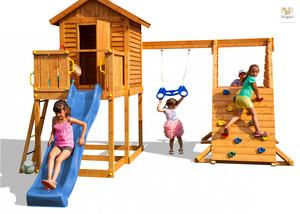 Fungoo drveno dječje igralište MyHOUSE SPIDER set
