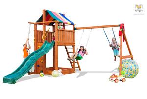 Fungoo drveno dječje igralište PARADISE MOVE set