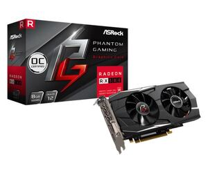 Asrock AMD Radeon Phantom Gaming D RX 580 8GB OC