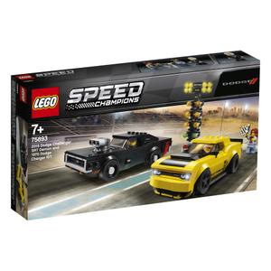 LEGO Speed Champions 2018 Dodge Challenger SRT Demon i 1970 Dodge Charger R/T 75893