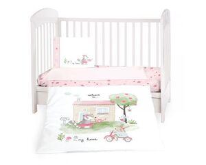 Kikka Boo 3-djelni set posteljine My Home