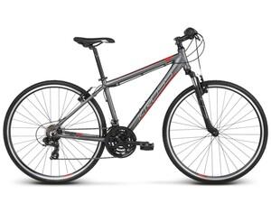 KROSS trekking bicikl Evado 1.0 Men sivo/crvena vel.M