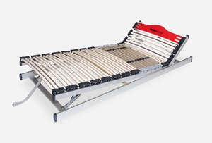 HESPO elastična podloga TRIPOD GN 200X 90 - podnica visine 9,5cm s mogućnošću mehaničkog podešavanja uzglavlja i uznožja