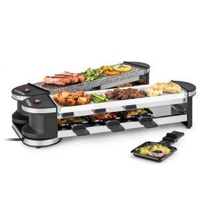 KLARSTEIN Tenderloin 50/50 raclette roštilj, Crna