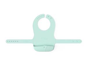 Everyday baby silikonski podbradnjak, Zelena mint