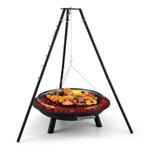 BLUMFELDT ARCO TRINO, Otočni roštilj, zdjelu za ugljen, tronožac, nehrđajući čelik