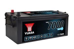 Akumulator Yuasa (7000) YBX Super Heavy Duty 12V/185Ah L+