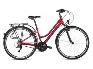 KROSS gradski bicikl TRANS 1.0 WOMEN crveno/crna vel.S