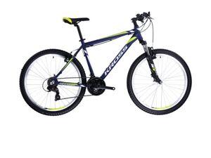 KROSS bicikl MTB Hexagon M BASE 26 žuto/crni vel.S