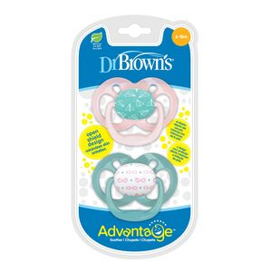 Dr.Brown's duda varalica Advantage, RAZ 2 - 6-18mj / 2kom, Roza