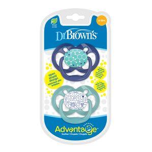 Dr.Brown's duda varalica Advantage, RAZ 2 - 6-18mj / 2kom, Plava