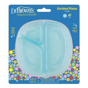 Dr.Brown's tanjuri za hranjenje - 3 kom