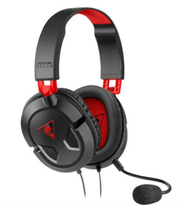 Turtle Beach Recon 50, gaming slušalice PC/PS4/PS5/XBOX, crno/crvene