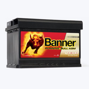 Banner Running Bull - AGM, 12V/80 Ah, akumulator
