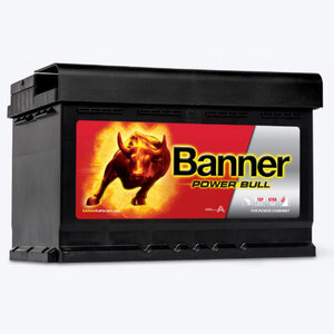 Banner Power Bull, 12V/74 Ah, akumulator