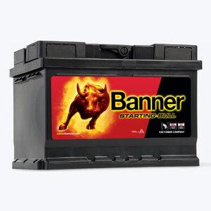 Banner Starting, 12V/55 Ah, akumulator