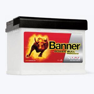 Banner Power Bull PRO, 12V/63 Ah, akumulator