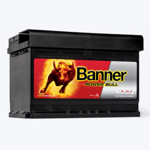 Banner Power Bull, 12V/72 Ah, akumulator