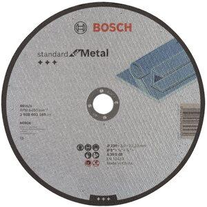BOSCH Standard rezna ploča za metal 230x3x22,23 - ravna - 25 komada