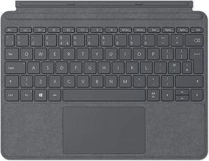 Microsoft tipkovnica za Surface GO, tamno siva (Lite Charcoal)