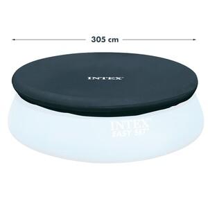 INTEX easy set® pokrivalo za bazen na napuhavanje 284 x 30 cm pool cover