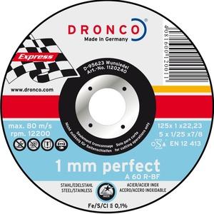 DRONCO attack rezna ploča 125x1 inox A60R 25 komada