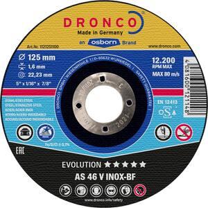 DRONCO rezna ploča 230x1,9 inox evolution AS46V 25 komada