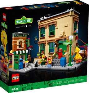 LEGO Ideas Ulica Sezam 123 21324