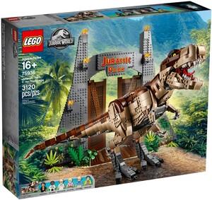 LEGO Jurassic World Jurassic Park: T. Rex Rampage 75936