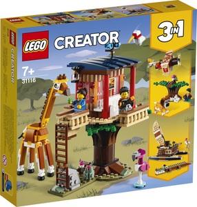 LEGO Creator Kućica na drvetu na safariju 31116