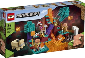 LEGO Minecraft Zakrivljena šuma 21168