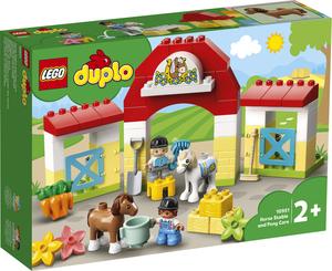 LEGO DUPLO Staja za konje i briga o poniju 10951