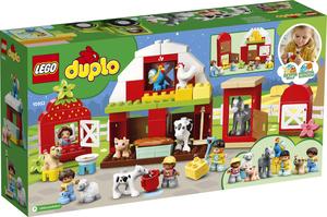 LEGO DUPLO Staja, traktor i briga o životinjama na farmi 10952