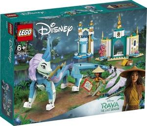 LEGO Disney Princess Raya i zmajica Sisu 43184