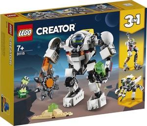 LEGO Creator Svemirski rudarski robot 31115